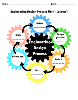Engineering Design Process Unit Plan Using Catchbook - Student Packet