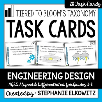 Engineering Design Task Cards
