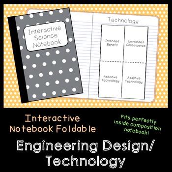 Engineering Design Vocab Foldable (Assistive, Adaptive, Intended Benefit, etc.)