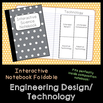 Engineering Design Vocab Foldable (Assistive, Adaptive, In