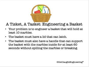 STEM-Engineering Energizer: A Tisket, A Tasket - Engineer a Basket