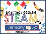 Engineering Engagement STEAM Kit - January Edition (Marshmallow Challenges)