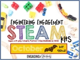 Engineering Engagement STEAM Kit - October Edition (Bat Themed Challenges)