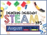 Engineering Engagement STEAM Kits - August Edition (Crayon