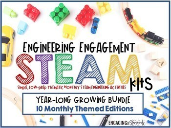 Engineering Engagement STEAM Kits - Monthly Thematic GROWING BUNDLE