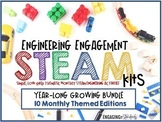 Engineering Engagement STEAM Kits - Monthly Thematic GROWI
