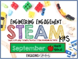 Engineering Engagement STEAM Kits - September Edition (Apple Themed Challenges)
