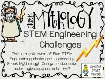Engineering Greek Mythology: STEM Engineering Challenges Five Pack!