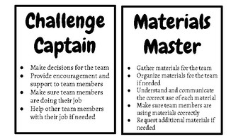 Engineering Group Role Cards