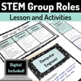 STEM Lesson Resource - Engineering Group Roles Lesson and Materials