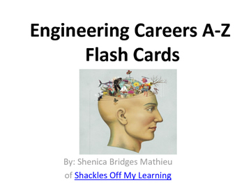 Engineering Jobs A-Z vocabulary flashcards