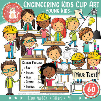 Engineering Kids Clip Art – YOUNG KIDS