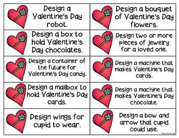 Engineering Mystery Tasks - Valentine's Edition