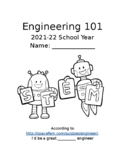 Engineering Notebook Cover Page