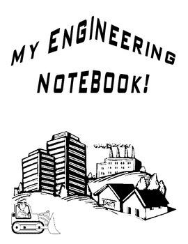 Engineering Notebook Editable Template