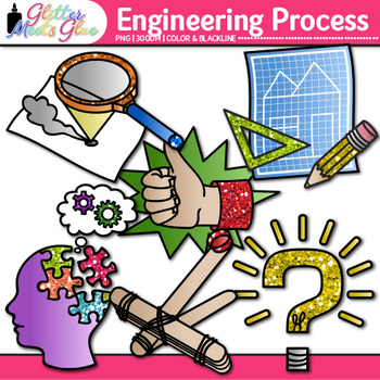 stem engineering process clip art steam science graphics for