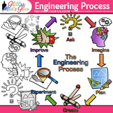 STEM Engineering Process Clip Art: Science Graphics 1{Glitter Meets Glue}