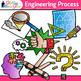 STEM Engineering Process Clip Art {STEAM Science Graphics