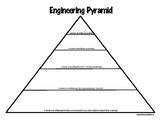 Engineering Pyramid Graphic Organizer - Literacy Component