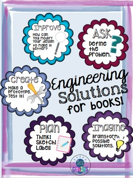 Merging STEM/STEAM with Reading - Engineering Solutions for Books! (Novel Eng.)
