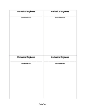 Engineering Types Flipables and Lesson Plan