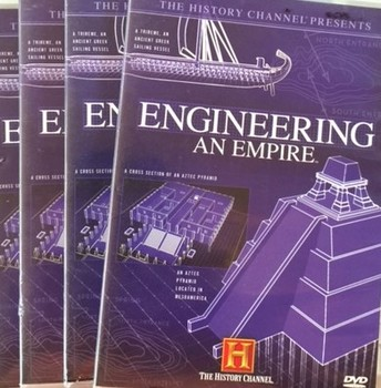 Engineering an Empire: Entire 14 Episode Bundle - Video Guides with Teacher Keys