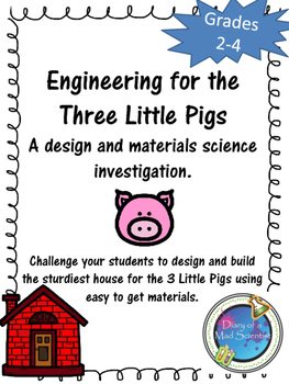 STEM Project: Engineering for the Three Little Pigs
