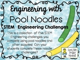 Engineering with Pool Noodles ~ STEM Challenges ~ Set of Five!