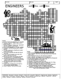 Engineers Crossword - Types of Engineers & What they Do