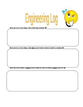 Engineers Log - Bridge Building