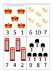 England #2 themed Numbers Clip it Cards preschool math lea