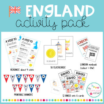 England Activity Pack