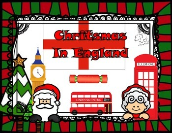 England Christmas Scrapbook (English version)