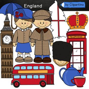 England Clipart Bundle