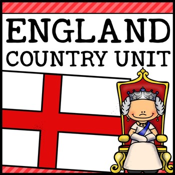 England Country Social Studies Complete Unit