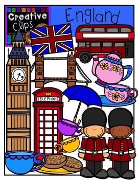 England {Creative Clips Digital Clipart}