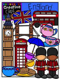 England {Creative Clips Digital Clipart}