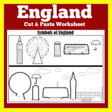 England Worksheet Activity
