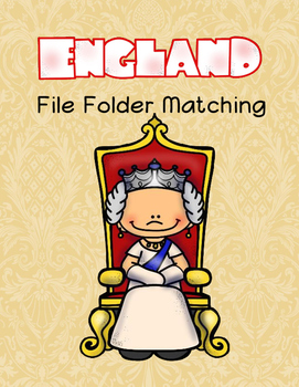 England File Folder Matching