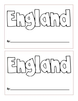 England Mini Book