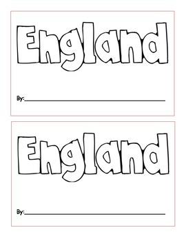 England Mini Book