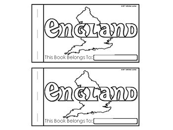 England Nonfction Book (Reader)