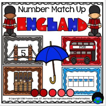 England Number Match Up