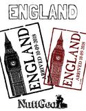 England Passport Stamp