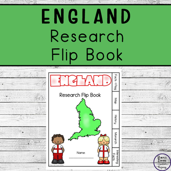 England Research Flip Book
