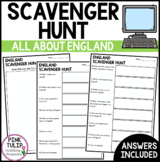 England Scavenger Hunt - Research Based
