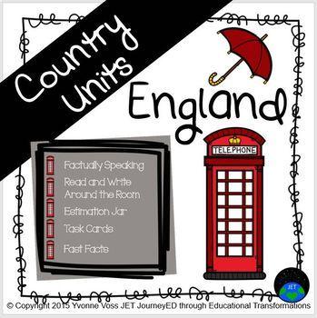 Second and Third Grade England Unit
