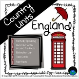 Second and Third Grade England Unit