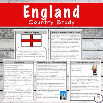 England Unit Study
