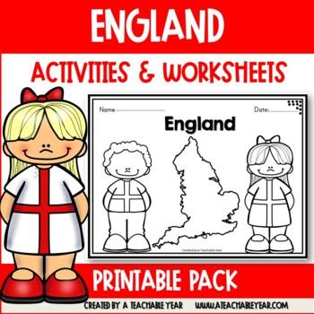 England - Vocabulary Pack